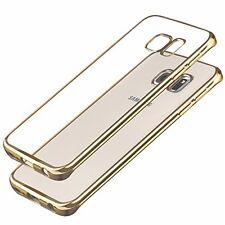 SAMSUNG s7 bordo in silicone trasparente TPU SLIM CASE COLORE Paraurti Cover