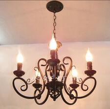 New European Vintage Chandelier Ceiling lamp Candle Lights Lighting Fixture Xmas