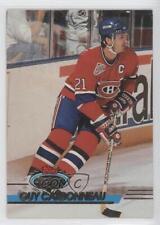 1993-94 Topps Stadium Club #1 Guy Carbonneau Montreal Canadiens Hockey Card