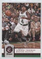 2016-17 Panini Excalibur Prince #7 Isaiah Thomas Boston Celtics Basketball Card