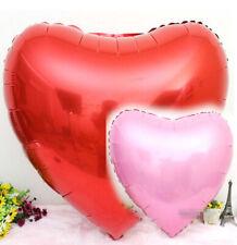 Palloncino Cuore Super Shape 70cm Rosso Rosa
