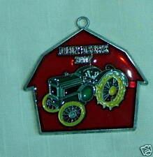 John Deere 2007 Suncatcher-JD Model D Tractor & Barn