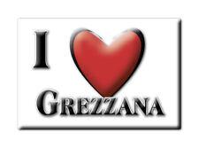 CALAMITA VENETO ITALIA FRIDGE MAGNET MAGNETE SOUVENIR I LOVE GREZZANA (VR)