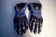 Handschuhe Gloves Dainese  blau schwarz Carbon Protektor Größe M Motorrad