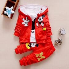 Tuta Bambino Topolino Tutina Mickey 3 Pz Set Abbigliamento Bimbi