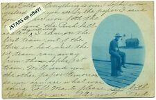 c. 1907 ANN ARBOR, MI, LIGHTHOUSE VIEW, NOISOM FAMILY GENEALOGY POSTCARD RPPC