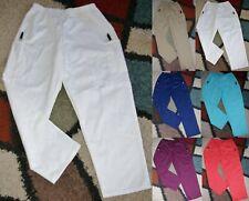Bless U Elastic Waist Cargo Scrub Pant W/ Back Pocket Sz XL & 3X