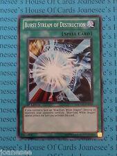 Burst Stream of Destruction SDDC-EN025 Common Yu-Gi-Oh Card Mint 1st Edition New