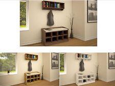 Coat Rack Hook Hanger Storage Shoe Hallway Furniture Bench Cabinet Lounge Stand