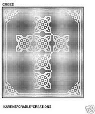 CROSS -  Filet Crochet Pattern