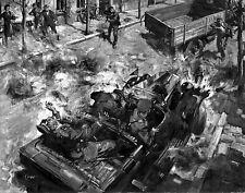 Assassination of Reinhard Heydrich Fine Art Repro Made in U.S.A Giclee Prints