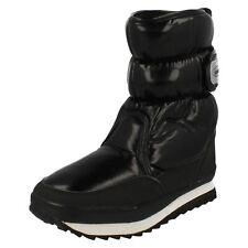 Ladies 8.8867092220 black patent snow boots by SNOW FUN Retail £19.99