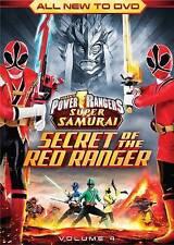 POWER RANGERS SUPER SAMUARI SECRET OF THE RED RANGER .... BRAND NEW IIN BOX