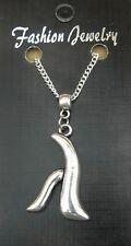 "18"" or 24 Inch Necklace & Lambda Charm Pendant Lesbian Gay Pride LGBT Diversity"