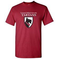Carnegie Mellon University Primary Logo Licensed Mens T-Shirt Unisex Tee