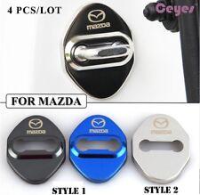 Door Lock Cover 4pcs Car Sticker Mazda 2 3 6 CX-3 CX-5 & more