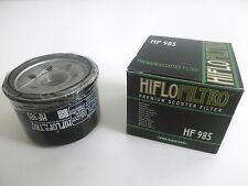 HIFLO FILTRO OLIO HF985 PER YAMAHA XP500 TMAX 2001 2002 2003 2004 2005 2006 2007