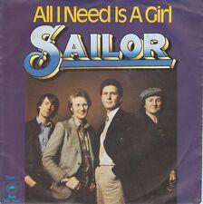 "★★ 7"" - SAILOR - All I Need Is A Girl - Copacabana"