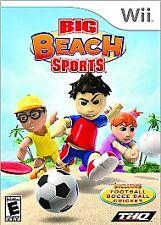 Big Beach Sports (Nintendo Wii, 2008) Football Bocce Ball Cricket