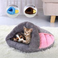 Pet Cat Nest Sleeping Bag Mat Cave Winter Warm Kitten Soft Pad House Bed Kennel