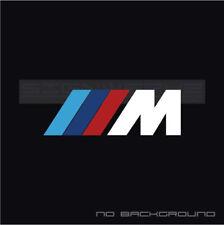 M Decal Sticker Logo  M1 M2 M3 M4 M5 MX5 MZ4 X3 X5 M8 M2C BMW Multi Color Pair