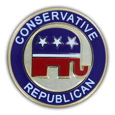 Lapel Pin Conservative Republican