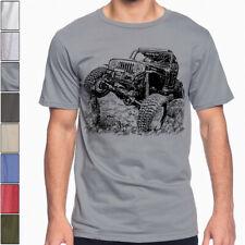Off Road Fan CJ 7 T-Shirt Dirt Rally Dakar Multi Color S-3XL Jeep