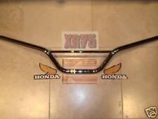 HONDA  xr75 xr 75 handlebars new  CHROME 1973 -1976 , K0 ,K1,K2,K3