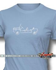 Austin Mini Moke T-Shirt for Women - Multiple Colors & Sizes British Classic Car
