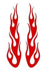 FLAME #51 DECAL VINYL GRAPHIC CAR TRUCK  BLAZE SUV SEMI CROSS OVER FIRE HOOD VAN