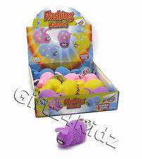 Light Up Flashing Funny Bunny Puffer Rabbit Spikey Sensory Squishy Stress Toy