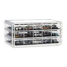 make-up organizer acryl - 3 lades met vakken acrylbox - cosmeticabox opbergdoos