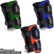 Protector de codos Motocicleta Niños Brace Support snowbaords Skate Mx Protección 2X