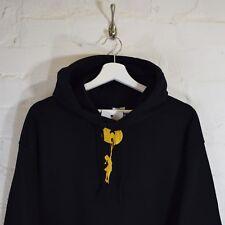 """W"" x Banksy Girl Embroidered Black Hoodie Hip Hop Hooded Sweatshirt Top by A F"