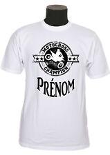 tee shirt enfant motocross personnalisé prénom au choix réf 168
