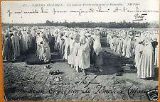 ALGERIE - SAHARA - PRIERE TERMINANT RAMADAN