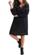 £70.00 NEW JOELLE  DEBENHAMS   DRESS TUNIC BLACK BEADED BOHO HIPPY FESTIVAL