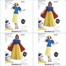 Disney Princess Halloween Costume Snow White Simplicity Pattern Miss New  UPIC