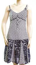 Robe bretelle LOLA ESPELETA femme imprimé bleu marine TAILLE 3  38 - 40