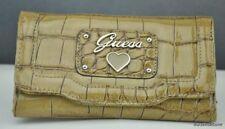 New GuEsS Wallet Ladies Retro Croc Camel