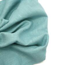 Alto & Alto Deslavado 100% Lino - Azul Hielo - Tejido Confección Moda Interior
