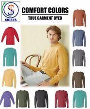 Comfort Colors 6014 Garment Dyed Heavyweight Ringspun Long Sleeve T-Shirt SALE