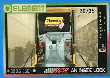 2010 NASCAR WHEELS ELEMENT AN INSIDE LOOK CHEERIOS #/35