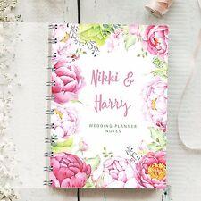 Personalised Wedding Planner Rosa peonie 4 ANNO DIARIO TO BE DIARIO NOTE