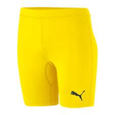 PUMA Ligue BASELAYER shorts enfants Jaune f06