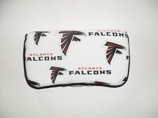 Black Red & White Atlanta Falcons Baby Wipes Case