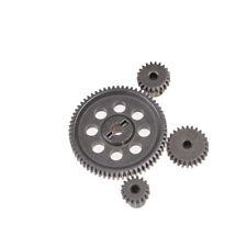 11184 Steel Metal Spur Diff Diferencial Main Gear 64T Motor Piñón Gear