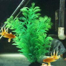 Artificial Fake Fish Tank Plants Aquarium Aquatic Decor Grass Orname Flower Y7M9