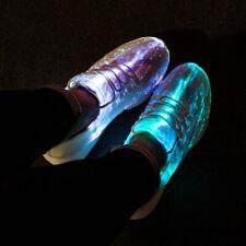ACEVER Flashing Fibre-optical Sneaker Shoes Birthday Gift Christmas for Men
