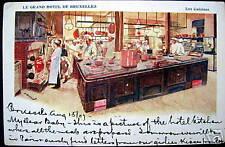 BELGIUM~1907 BRUXELLES~LE GRAND HOTEL~Les Cuisines